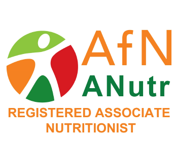 AfN ANutr - Registered Associate Nutritionist